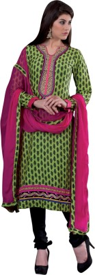 Vastrani Cotton Embroidered Dress/Top Material
