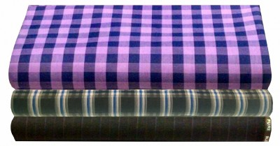 Ivo Gini Cotton Checkered Shirt & Trouser Fabric