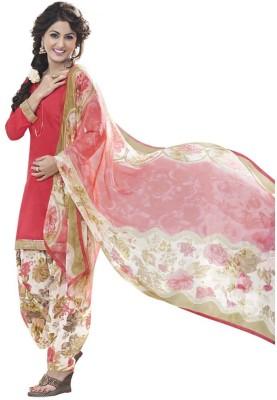 Ganga Fashion Satin, Cotton Printed Salwar Suit Dupatta Material
