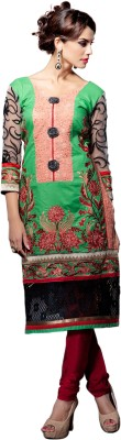 Kaypee Arts Georgette Embroidered Dress/Top Material