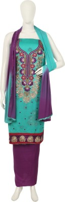 Krsnna Cotton Embroidered Salwar Suit Dupatta Material