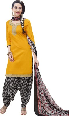 Style Mania Cotton Linen Blend Embroidered Dress/Top Material