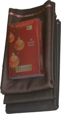 Kundan Cotton Polyester Blend Self Design Trouser Fabric