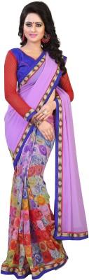 CD Enterprise Printed Bollywood Handloom Georgette Sari