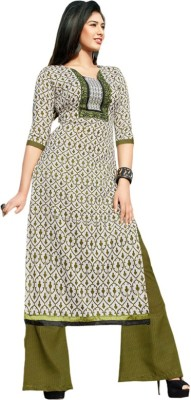 Abhinna Cotton Printed Dress/Top Material