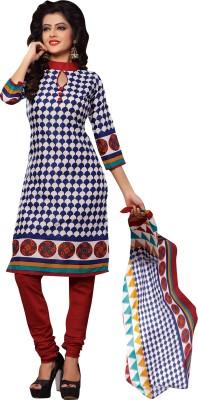 Hitansh Fashion Cotton Printed Salwar Suit Dupatta Material