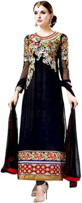 Vogue4all Georgette Embroidered Salwar Suit Dupatta Material