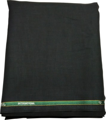 Gwalior Suitings Cotton Polyester Blend Self Design Shirt Fabric