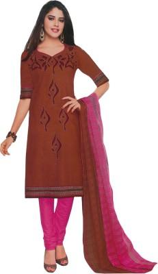 Sinina Cotton Printed Salwar Suit Dupatta Material