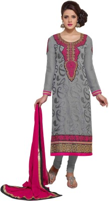 Odhni Brasso Self Design Salwar Suit Dupatta Material