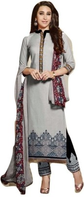 Shop Well Soon Cotton Embroidered Salwar Suit Dupatta Material