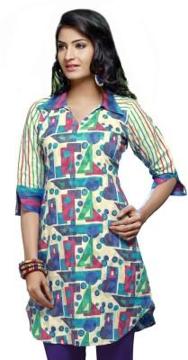 Karishma Suits Cotton, Jacquard Geometric Print Dress/Top Material