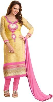 Khushali Georgette Embroidered Salwar Suit Dupatta Material