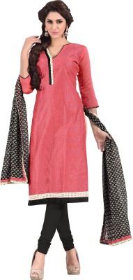 We Desi Chanderi Embroidered Salwar Suit Dupatta Material
