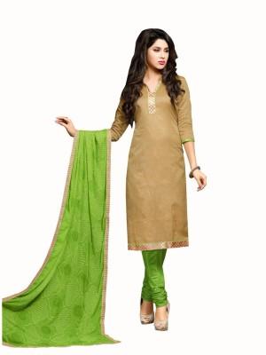 Manthan Silk Embroidered Salwar Suit Dupatta Material