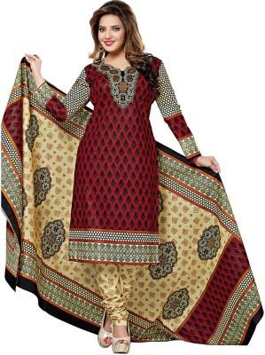 Dertaste Cotton Floral Print Salwar Suit Dupatta Material