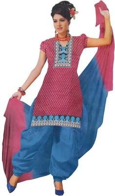 Om Sai Traders Cotton Printed Salwar Suit Dupatta Material