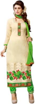 Unique Creation Cotton, Chanderi Printed Salwar Suit Dupatta Material