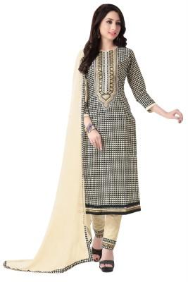 Justkartit Cotton Printed Salwar Suit Dupatta Material