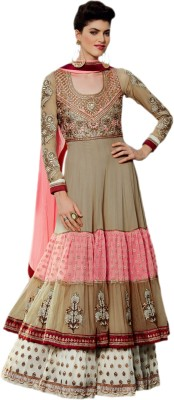 Gaabha Georgette Self Design Salwar Suit Dupatta Material