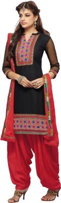 BanoRani Cotton Self Design Dress/Top Material