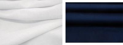 ZainSain Cotton Solid, Solid Shirt & Trouser Fabric