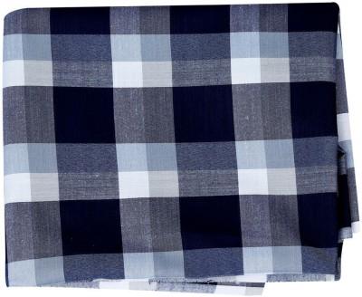 Sojanya Cotton Checkered Kurta Fabric