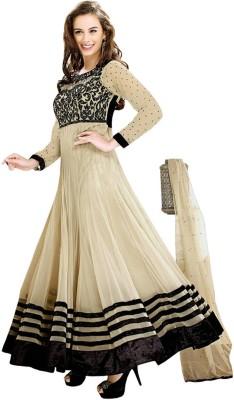 Vardha Trendz Georgette Embroidered Salwar Suit Dupatta Material