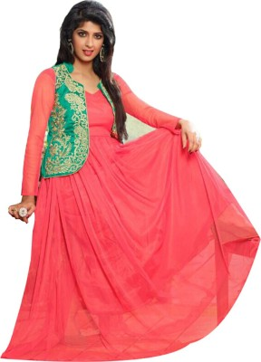 Shyam Suits Georgette Embroidered Kurti Fabric