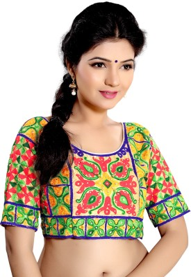 Indian E Fashion Round Neck Women's Blouse