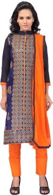 Awesome Chanderi, Cotton Self Design Salwar Suit Dupatta Material