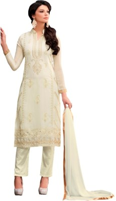 Youth Mantra Georgette Embroidered Salwar Suit Dupatta Material