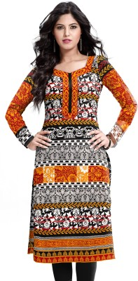 D WINE Casual, Party, Formal, Festive Printed Women's Kurti