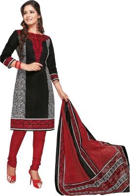 Parchayee Cotton Floral Print Salwar Suit Dupatta Material