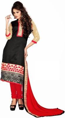 Awesome Chanderi Self Design Salwar Suit Dupatta Material