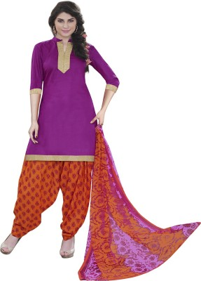 Manjaree Cotton Printed Salwar Suit Dupatta Material