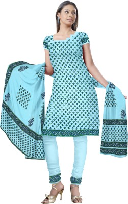 Fab Rajasthan Cotton Printed Salwar Suit Dupatta Material
