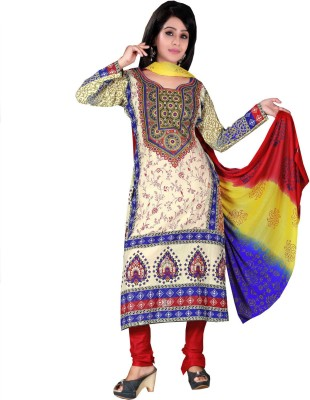 HSFS Cotton Printed Salwar Suit Dupatta Material