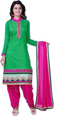Krizel Trendz Georgette Self Design Dress/Top Material