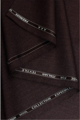 OCM Cotton Polyester Blend Solid Shirt Fabric
