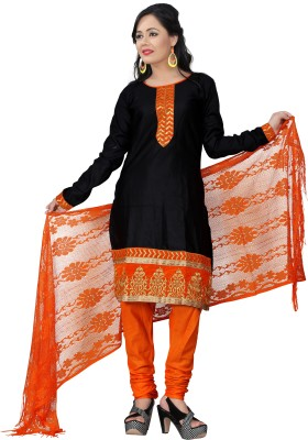 Shop clothy Cotton Solid Salwar Suit Dupatta Material
