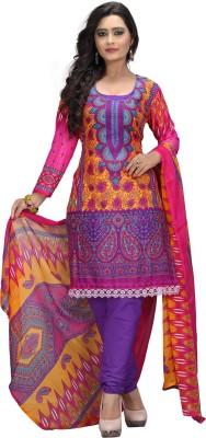 Maahika Crepe Printed Salwar Suit Dupatta Material