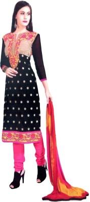 OVIz Cotton Embroidered Salwar Suit Dupatta Material