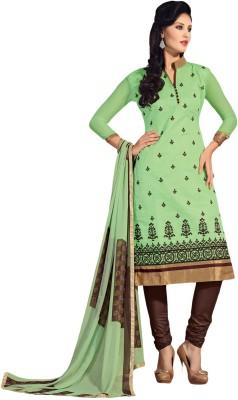 Meghali Chanderi Solid Dress/Top Material