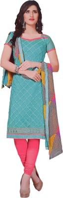 Freshboss Cotton Embroidered Salwar Suit Dupatta Material