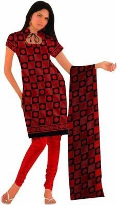 Deekay cloth house Polyester Printed Salwar Suit Dupatta Material