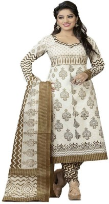 Lace House Cotton Printed Salwar Suit Dupatta Material