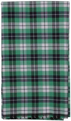 SAHYOG Cotton Polyester Blend Checkered Shirt Fabric