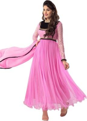 Leewodeal Brasso Self Design Salwar Suit Dupatta Material