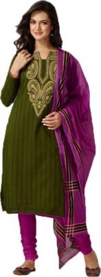 Mithunfashion Cotton Printed Salwar Suit Dupatta Material